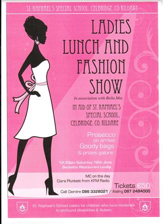 Ladies lunch flyer Apr.18